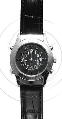 Часы с речевым выходом и шрифтом Брайля_1